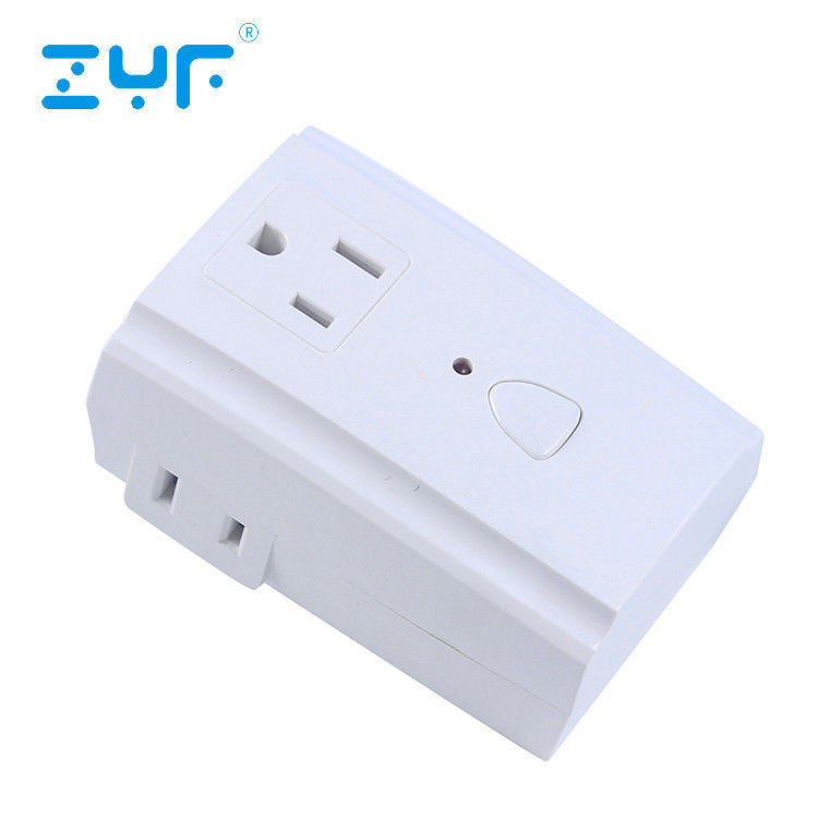 Simple Setup Wireless Remote Control Outlet , Electrical Light Switch For Indoor Appliance